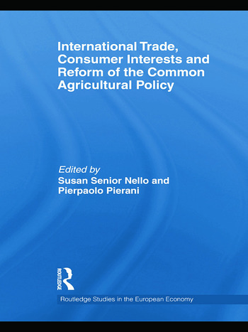 International Trade, Consumer Interests and Reform of the Common Agricultural Policy book cover