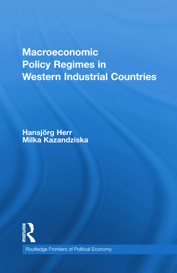Macroeconomic Policy Regimes in Western Industrial Countries book cover
