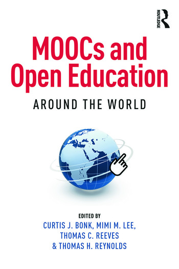 MOOCs and Open Education Around the World book cover