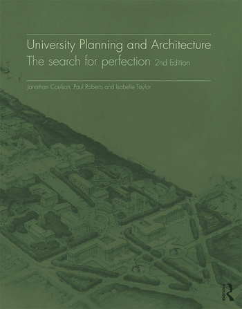 University Planning and Architecture The search for perfection book cover