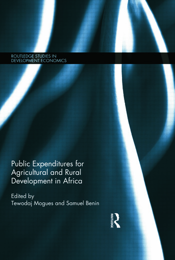 Public Expenditures for Agricultural and Rural Development in Africa book cover
