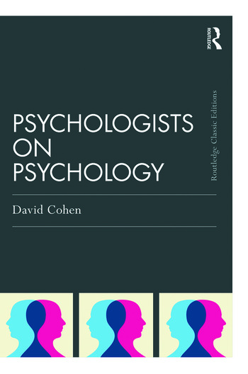Psychologists on Psychology (Classic Edition) book cover