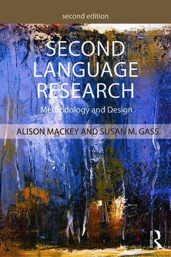 Second Language Research Methodology and Design book cover