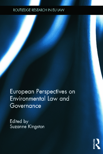 European Perspectives on Environmental Law and Governance book cover