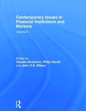 Contemporary Issues in Financial Institutions and Markets Volume II book cover