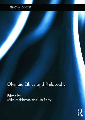 Olympic Ethics and Philosophy book cover