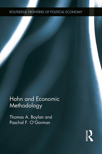 Hahn and Economic Methodology book cover