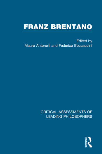Franz Brentano book cover