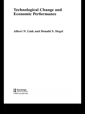 Technological Change and Economic Performance book cover