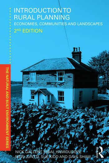 Introduction to Rural Planning Economies, Communities and Landscapes book cover