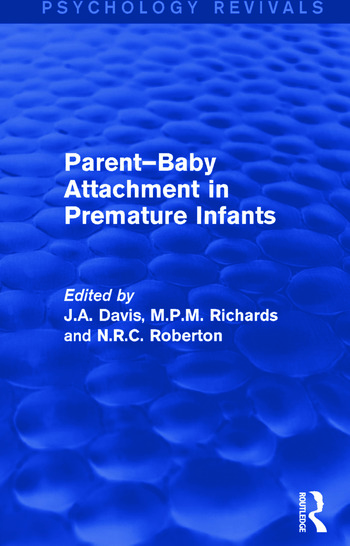 Parent-Baby Attachment in Premature Infants book cover