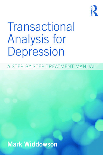 Transactional Analysis for Depression A step-by-step treatment manual book cover