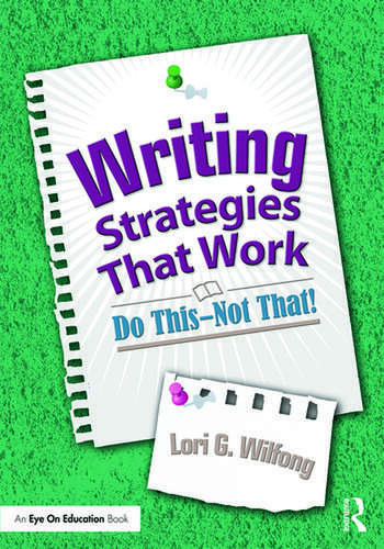 Writing Strategies That Work Do This--Not That! book cover