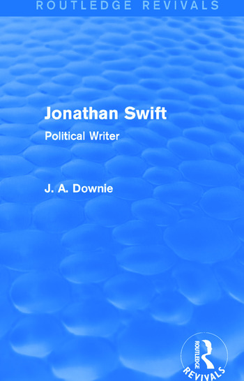 Jonathan Swift (Routledge Revivals) Political Writer book cover
