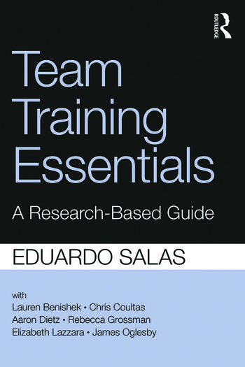 Team Training Essentials A Research-Based Guide book cover