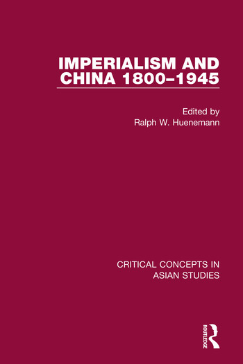 Imperialism and China 1800-1945 CC 4V book cover