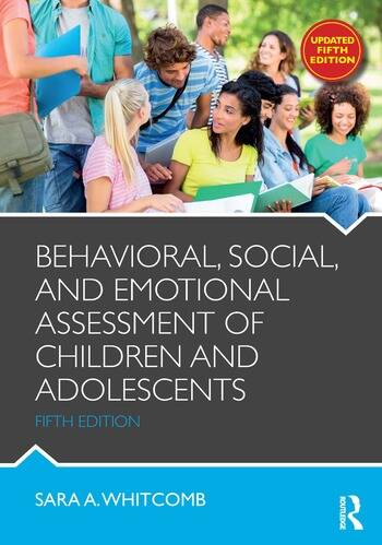 Behavioral, Social, and Emotional Assessment of Children and Adolescents book cover
