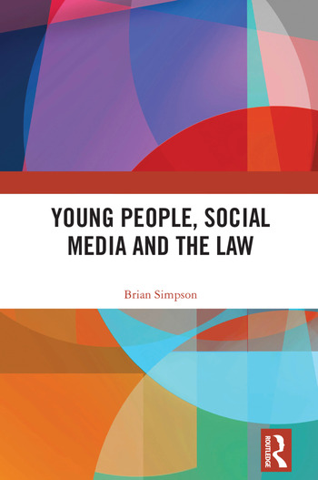 Young People, Social Media and the Law book cover
