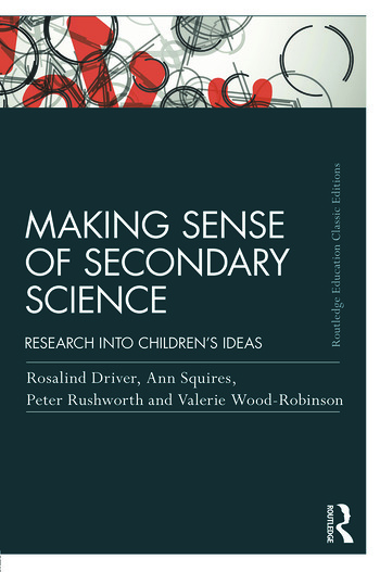 Making Sense of Secondary Science Research into children's ideas book cover