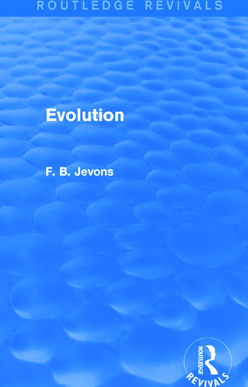 Evolution (Routledge Revivals) book cover