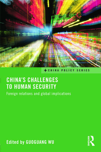 China's Challenges to Human Security Foreign Relations and Global Implications book cover
