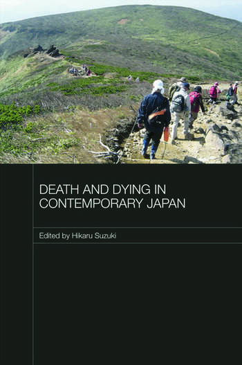 Death and Dying in Contemporary Japan book cover