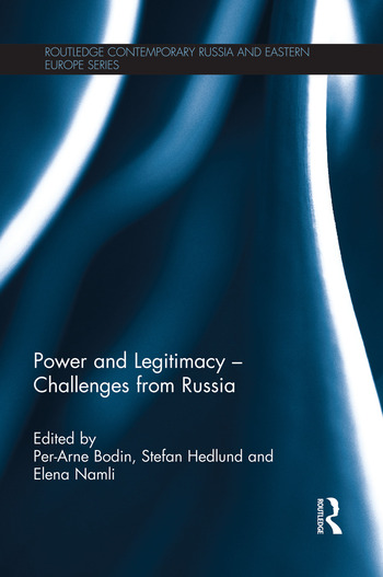 Power and Legitimacy - Challenges from Russia book cover