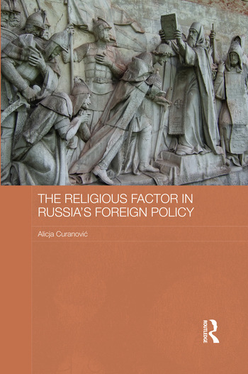 The Religious Factor in Russia's Foreign Policy book cover