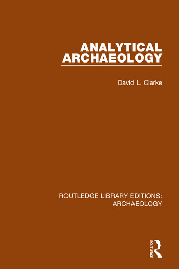 Analytical Archaeology book cover