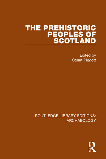 The Prehistoric Peoples of Scotland book cover