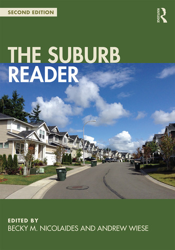 The Suburb Reader book cover