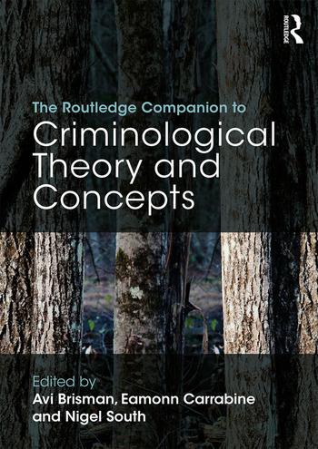 The Routledge Companion to Criminological Theory and Concepts book cover