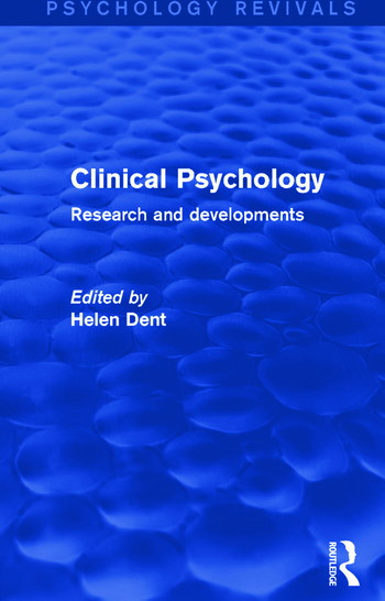 Clinical Psychology Research and Developments book cover