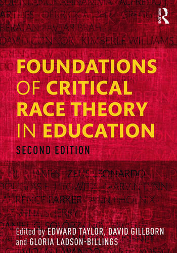 Foundations of Critical Race Theory in Education book cover