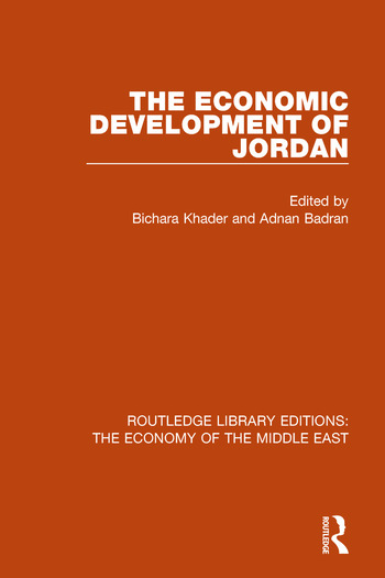 The Economic Development of Jordan book cover