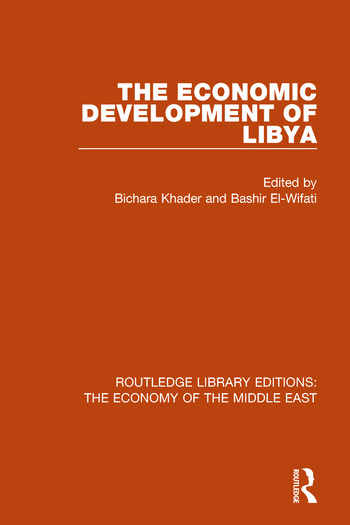The Economic Development of Libya book cover