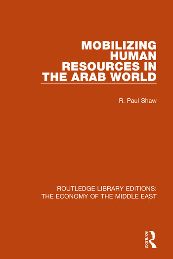 Mobilizing Human Resources in the Arab World book cover