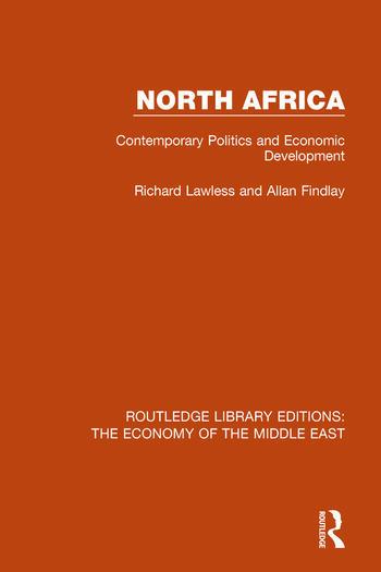North Africa Contemporary Politics and Economic Development book cover