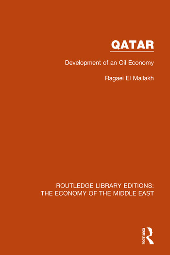 Qatar Development of an Oil Economy book cover