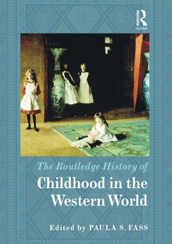 The Routledge History of Childhood in the Western World book cover