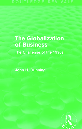 The Globalization of Business (Routledge Revivals) The Challenge of the 1990s book cover