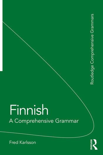 Finnish A Comprehensive Grammar book cover