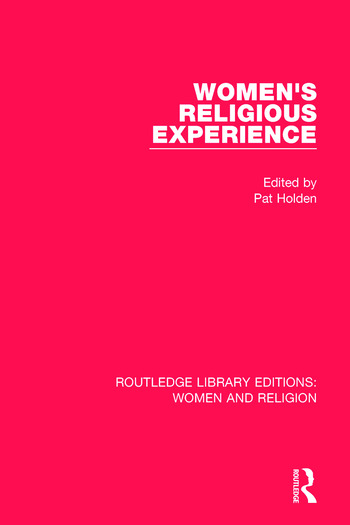 Women's Religious Experience book cover