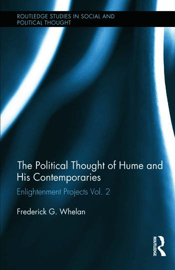 Political Thought of Hume and his Contemporaries Enlightenment Projects Vol. 2 book cover