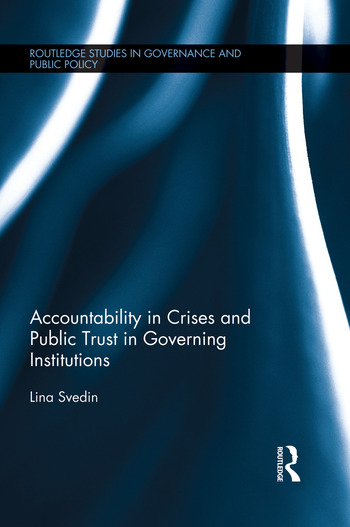 Accountability in Crises and Public Trust in Governing Institutions book cover