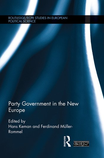 Party Government in the New Europe book cover