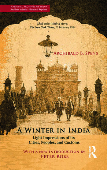A Winter in India Light Impressions of its Cities, Peoples and Customs book cover