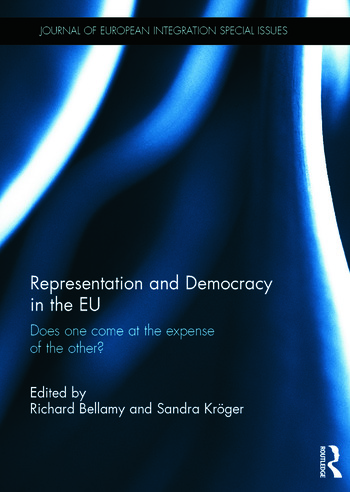 Representation and Democracy in the EU Does one come at the expense of the other? book cover