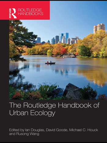 The Routledge Handbook of Urban Ecology book cover