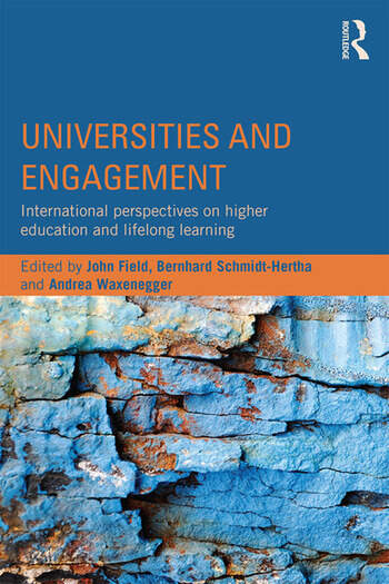 Universities and Engagement International perspectives on higher education and lifelong learning book cover